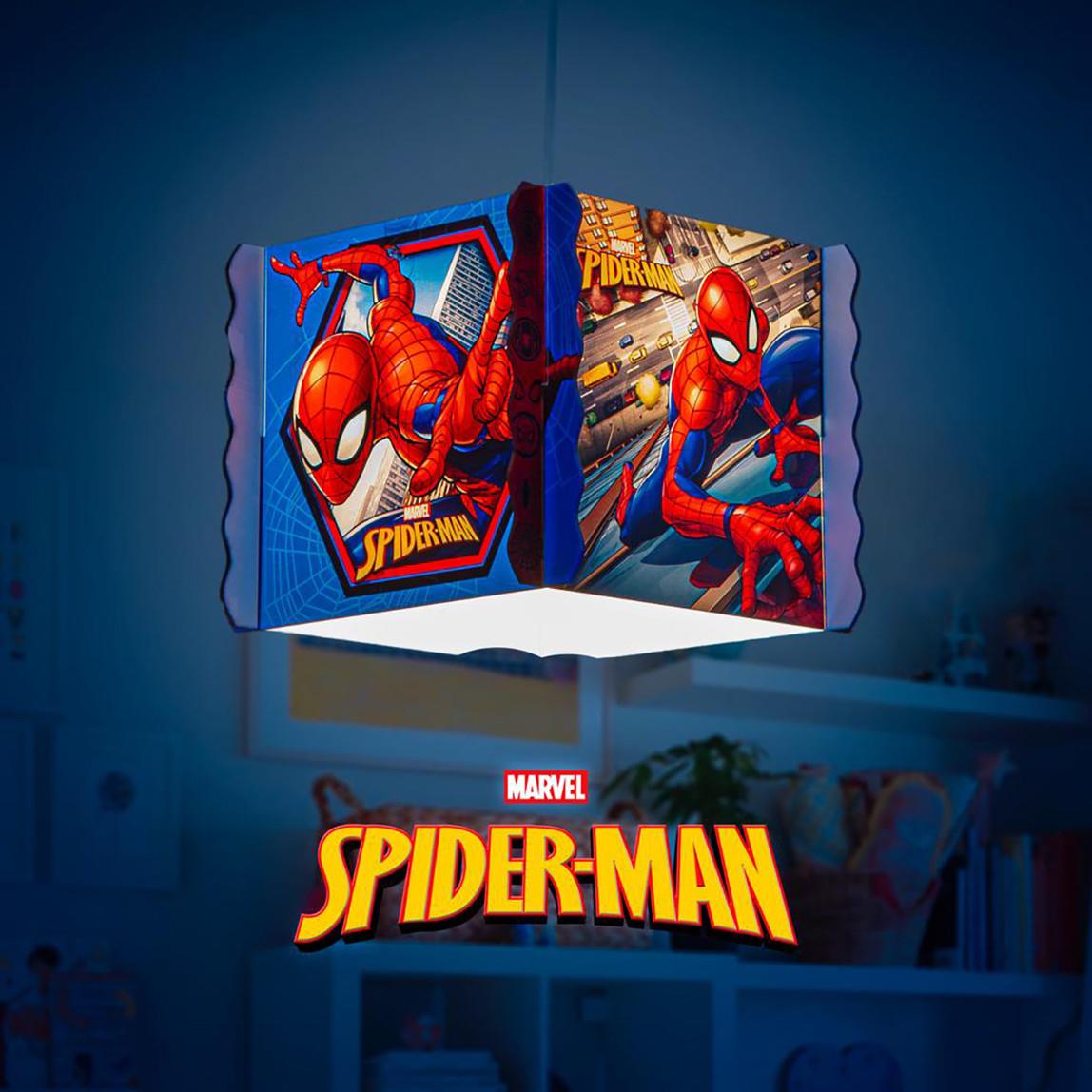 Spiderman Kare Plexi Tavan Lambası