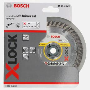 X-LOCK Standard for Universal Elmas Kesici Disk 115 mm