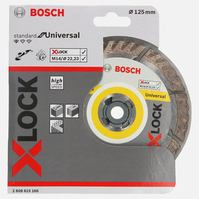 X-LOCK Standard for Universal Elmas Kesici Disk 125 mm