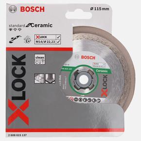 X-LOCK Standard for Ceramic Elmas Kesici Disk 115 mm