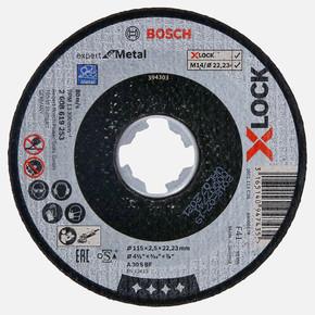 X-LOCK 115x2,5 mm Expert for Metal Kesici Disk Düz