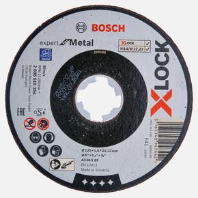 X-LOCK Expertfor Metal Kesici Disk 125x1.6 mm Düz