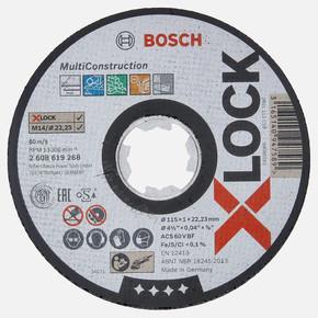 X-LOCK 115x1 mm Rapido MultiConstruction Kesici Disk