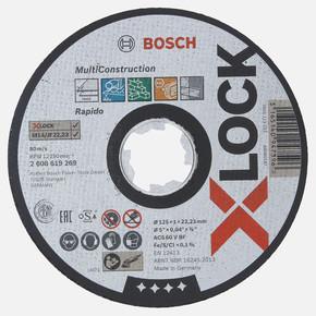 X-LOCK MultiMaterial 125x1.0 mm Düz Kesici Disk