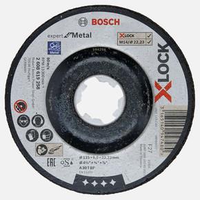 X-LOCK 115x6,0 mm Expert for Metal Metal Taşlama Diski