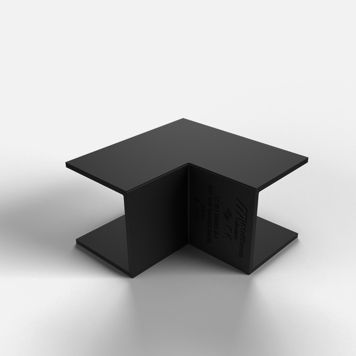 25X16 İç-Dış Köşe Siyah