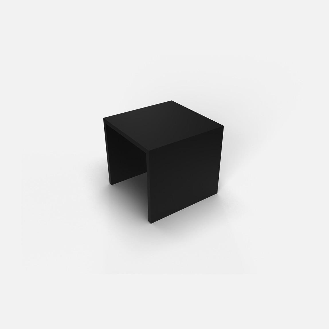 12X12 Ek-Uç Parçası Siyah