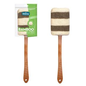 BAMBU-KETEN SAPLI BANYO SÜNGERİ