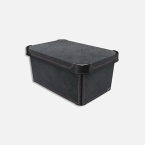 Style Box Antrasit Deri 5L
