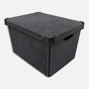 Style Box Antrasit Deri
