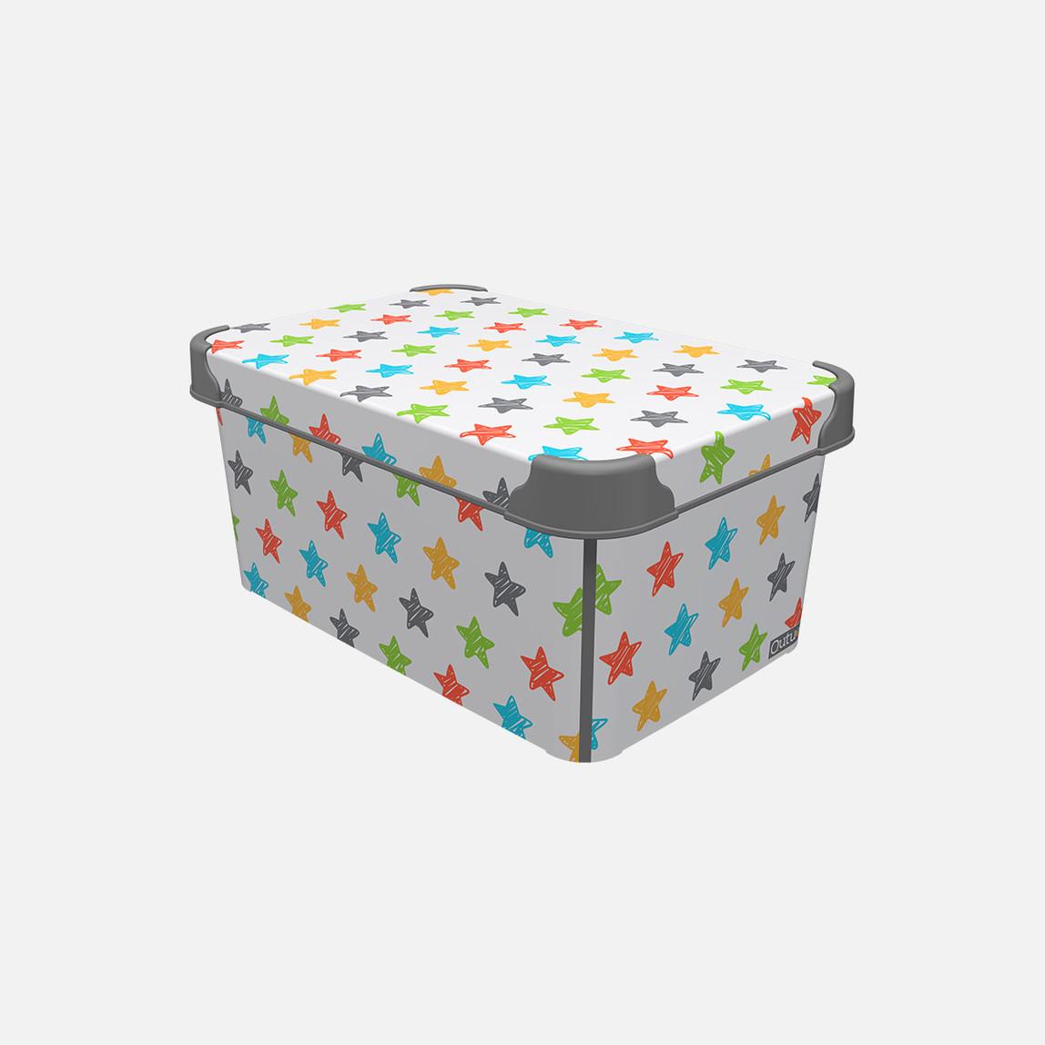 Style Box Colored Star 5L