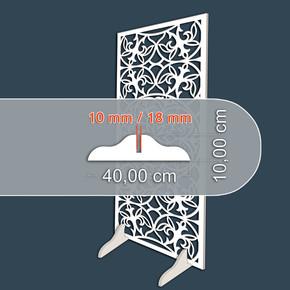 10mm Beyaz Mdf Ayaklık