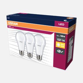 Eko 3'lü Paket E27 Led Klasik Ampul Sarı Işık