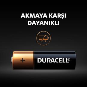 Duracell Basic Kalem Pil 6'Lı AA