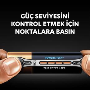 Duracell Ultra Kalem Pil 6'Lı AA