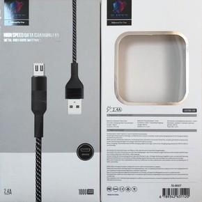Hızlı Şarj Ve Data Kablo 2,4 Amp..Micro Usb