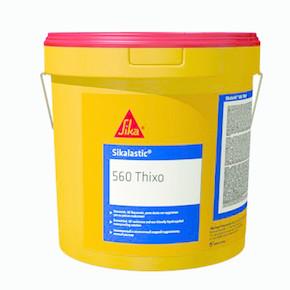 Sikalastic 560 Thixo Ekonomik Ve Çevreyle Dost Likit Çatı Su Yalıtım Membranı Beyaz 7 kg