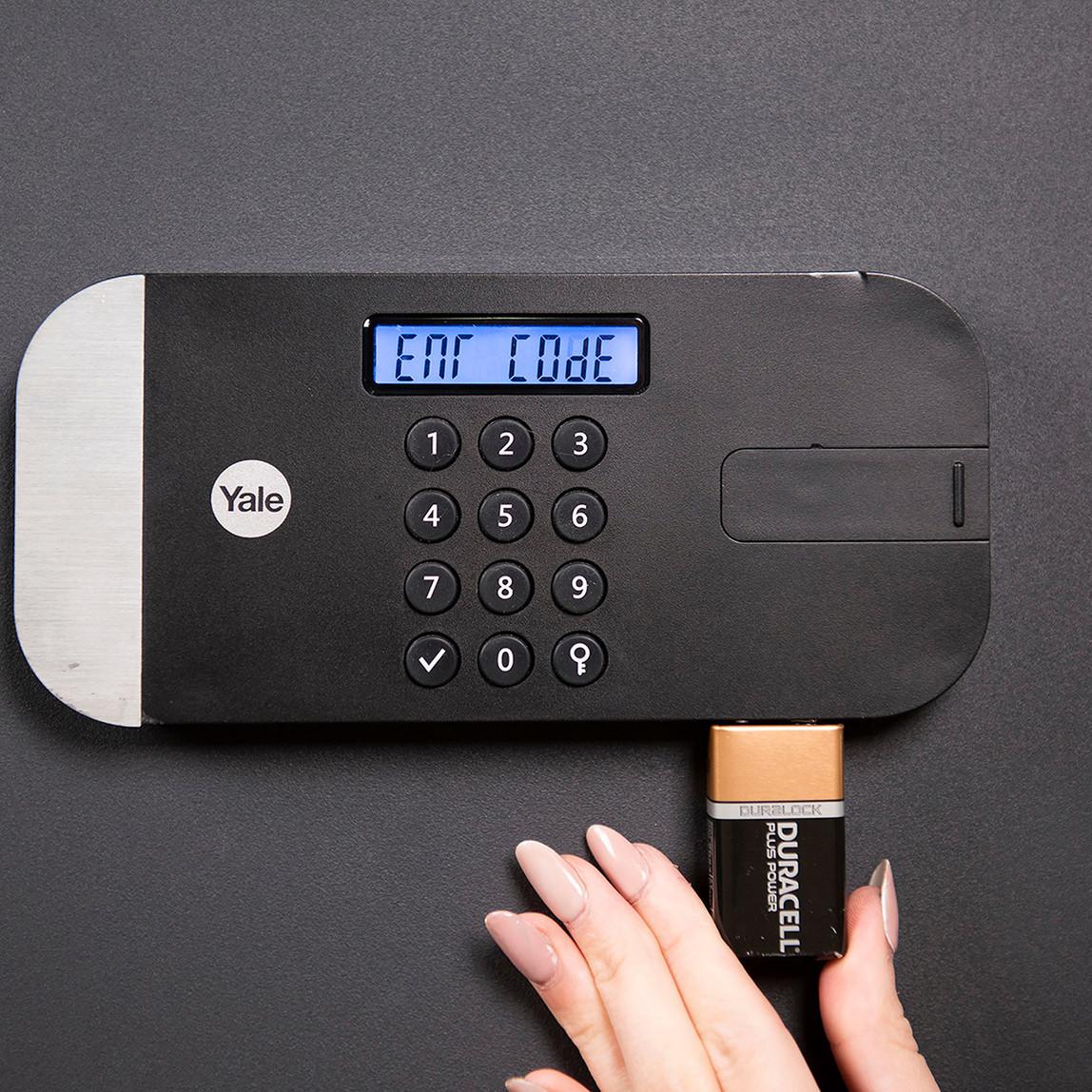 Yale Maksimum Güvenlik Sertifikalı Motorlu Kasa - Ev Tipi