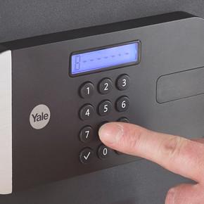 Yale Maksimum Güvenlik Sertifikalı Motorlu Kasa - Laptop Tipi