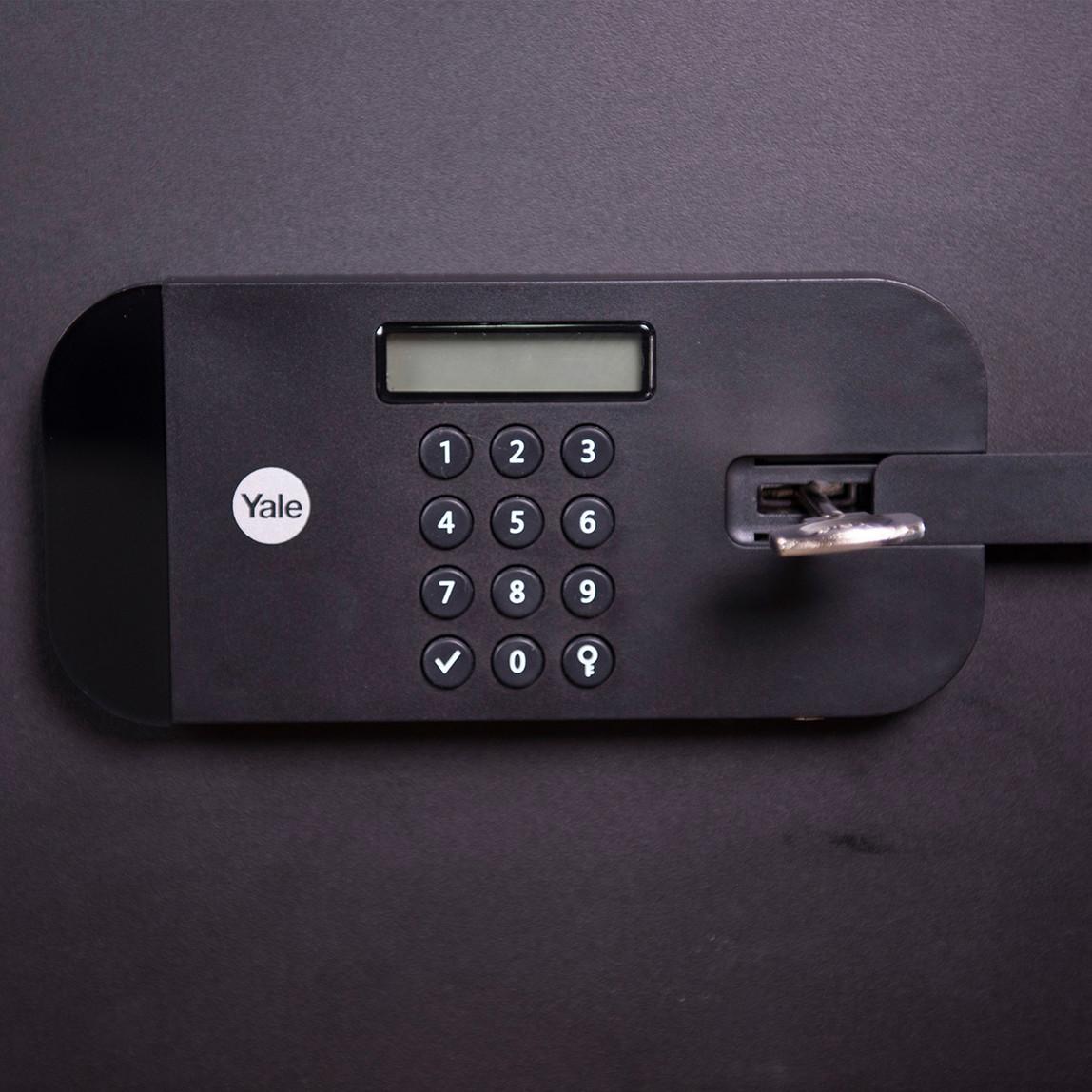 Yale Yüksek Güvenlikli Parmak İzli Motorlu Kasa - Ofis Tipi