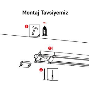 Slimflex Aksesuar Montaj Seti