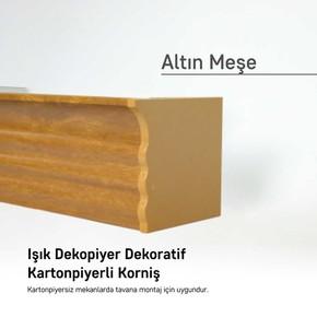 Panolu Pvc Perde Rayı Altınmeşe 150 cm