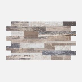 25x45 cm Sırlı Granit Foresta Multi Geçmeli 1Kutu = 0,85m²
