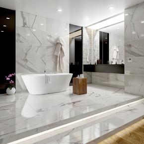 60x120 cm Sırlı Granit Royal Beyaz  Kutu=1,44m² Y