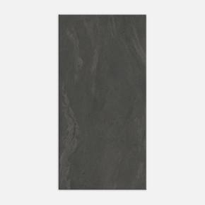 60x120 cm Tierra Siyah Mat Rektifiyeli