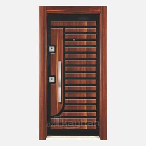KY10 Kabartmalı Çelik Kapı Sol