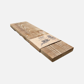 Eskitme ahşap 13-15 cm 50x15x2,5 cm Ladin 51-Teak
