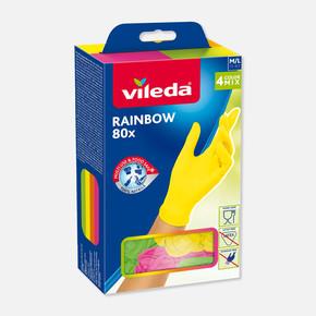Rainbow Nitril Eldiven 80'li