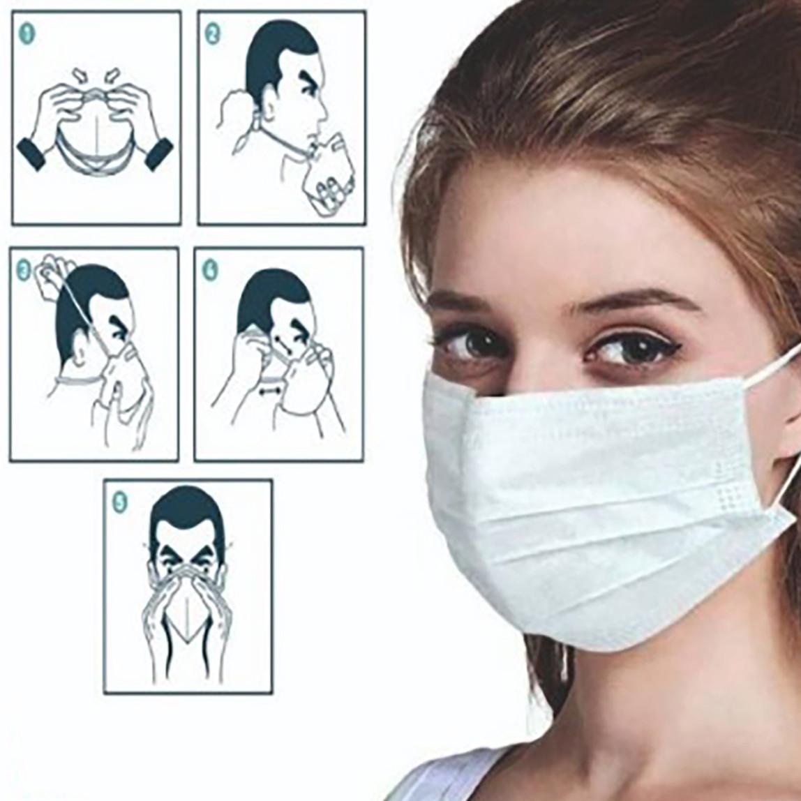 Tek Kullanımlık 2'li Cerrahi Maske