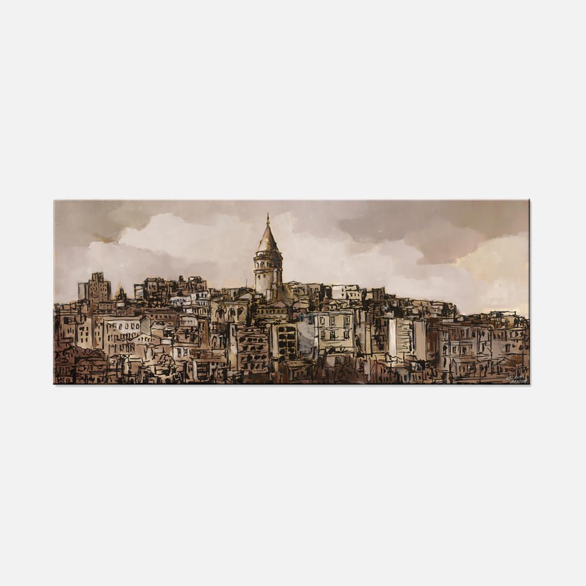 Dec-Spec 40x100 cm Kanvas Tablo