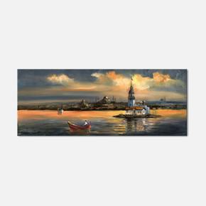 40x100 cm Kanvas Tablo
