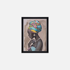 Çerçeveli 85x110 cm Canvas Tablo