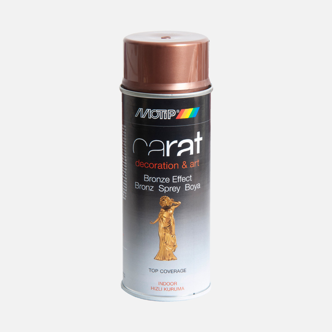 400ml Carat Sprey Boya Bronz Bakır Efekt