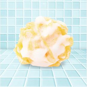 Muzlu Süt Sabunlu Banyo Lifi