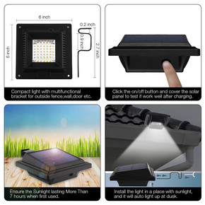 Solar Panel Askılı 40 Led