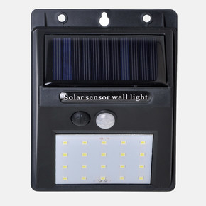 Sensörlü 20 Led Solar Panel