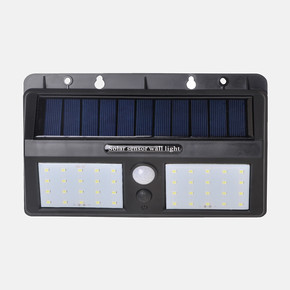 Solar Panel Sensörlü 40 Led