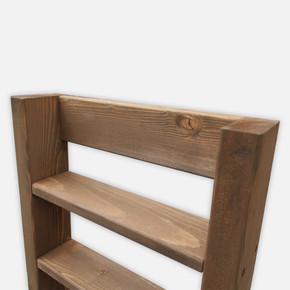 SZN Wood Troy Ahşap Raf Ladin-Göknar Kendin Yap 40 x 49 x 9 cm SZN92-Wenge