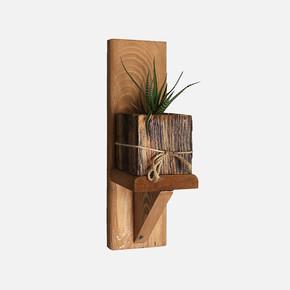 SZN Wood Kaffa Ahşap Raf Ladin-GöknarKendin Yap 9 x 29 x 11 cm SZN51-Teak
