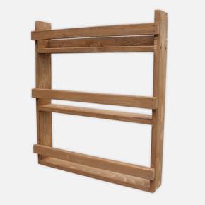 SZN Wood Torin Ahşap Raf Ladin-Göknar Kendin Yap 59 x 66 x 11 cm SZN51-Teak