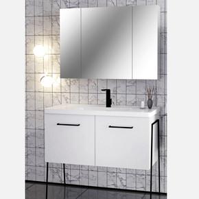 Vega 100 cm Banyo Dolabı