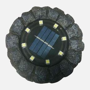 Dekoratif 8 Ledli Solar Taş