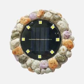 Solar Renkli Taş 8 Ledli