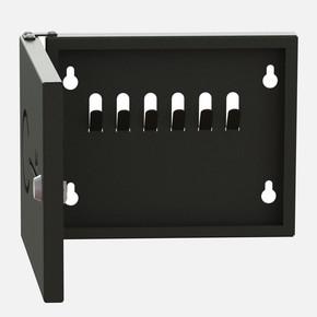 Anahtarlık Kutusu 6 Kilitli Siyah