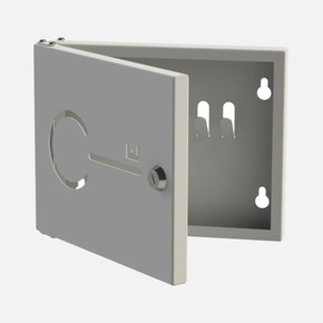 Anahtarlık Kutusu 6 Kilitli Gri