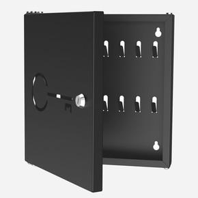 Anahtarlık Kutusu 14 Kilitli Siyah